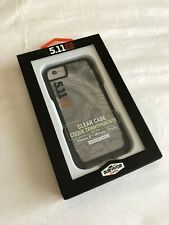 Griffin Survivor Case ● 5.11 Tactical ● Clear ● Black ● iPhone 2020 SE, 8, 7, 6s