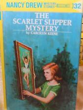 Nancy Drew The Scarlet Slipper Mystery by Carolyn Keene #32 2002