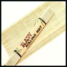 RAW BAMBOO ROLLING MAT FOR HAND ROLLED TOBACCO CIGARETTE PAPERS ROLL UP