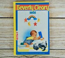 Children's Chapter Book SOCKS by Beverly Cleary Hardback 1990 NOS