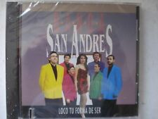 Banda San Andres Loco Tu Forma De Ser 1992 CD New Sealed Remainder Slit     S68