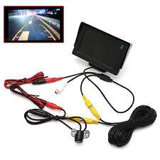 "2 In1 4.3"" TFT LCD Monitor+Waterproof Rearview Camera Car Night Vision Kit"