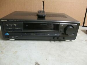 Technics SA-EX110 AM/FM Stereo Receiver Fully Tested Great Working Condition