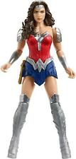 "Wonder Woman Action Figure Articulated Dc Justice League 12"" Armor Mattel"