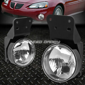 FOR 99-05 PONTIAC GRAND AM CLEAR LENS BUMPER DRIVING FOG LIGHT REPLACEMENT LAMP
