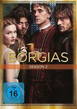 DIE BORGIAS SEASON 2 MB  4 DVD NEU FRANCOIS ARNAUD/JEREMY IRONS/+