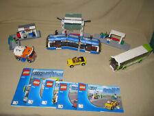 LEGO   City -  große  Bus -  und Tramstation  8404