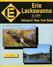 MORNING SUN BOOK * ERIE LACKAWANNA in COLOR VOL.2 NY STATE by DeYOUNG, HC/DJ NEW
