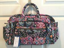 NWT Vera Bradley Iconic Compact Weekender Fox Forest NEW Travel Bag Gym Dillards