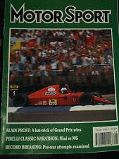 ALAIN PROST AYRTON SENNA BRITISH FRENCH MEXICAN GP FERRARI F1 1990 AMAZING