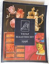 Tefaf Maastricht – 1996 – Livre d'art GRAND  FORMAT REPRODUCTIONS  PHOTOGRAPHIQU