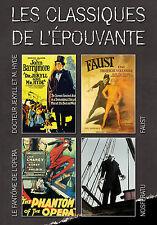 Coffret 4 DVD Les classiques de l'épouvante