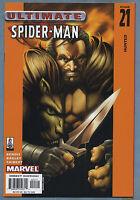 Ultimate Spider-Man #21 2002 Marvel [Kraven the Hunter] Mark Bagley m