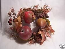 FRUIT FALL AUTUMN 3 IN CANDLE RING WEDDING DECORATION