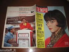 RIVISTA TEMPO 1961/2=JEANNE VALERIE=WALTER CHIARI=MINA=CENT'ANNI D'ITALIA=