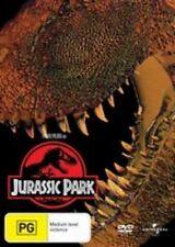 JURASSIC PARK - BRAND NEW & SEALED REG.4 DVD (SAM NEILL, LAURA DERN, SPIELBERG)