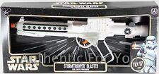 NEW Disney Parks Star Wars White STORMTROOPER BLASTER RIFLE Toy Gun - Costume
