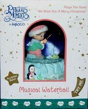 "Precious Moments Musical Waterball Globe Factory Sealed 2000 Box size 7"""