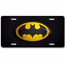 Batman Dark Knight car tag, LICENSE PLATE AUTO TAG NEW