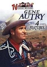 GENE AUTRY TV CLASSIC WESTERNS 4 FEATURES Inc. Public Cowboy No. 1 DVD NEW
