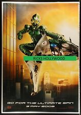 "Original D/S SPIDER-MAN GREEN GOBLIN PRINTER'S TEST PROOF 50"" X 72"" Bus Shelter"