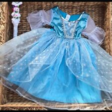 """Frozen Inspired """"Dazzle Ice Princess"""" Blue Elsa Dress Costume  New 2 4 Years Old"""