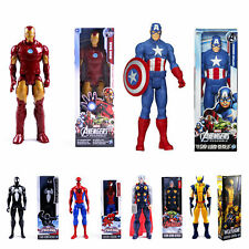 30cm Marvel The Avengers Superheld Spiderman Action Figur Figuren Iron Man Thor*