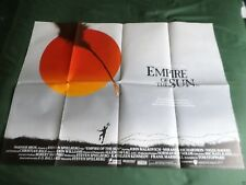 EMPIRE OF THE SUN   ORIGINAL MOVIE POSTER  UK QUAD FOLDED   CHRISTIAN BALE