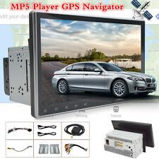 """Doble 2Din cuatro núcleos 9"""" pulgadas HD Touch Auto Gps Radio estéreo Reproductor multimedia MP5"""