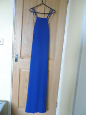 Forever 21 Blue Strappy Maxi Dress New Size 12 Large