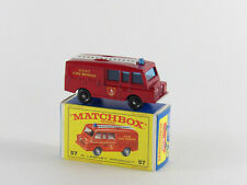 Matchbox Regular Wheels Land Rover Kent Fire Brigade in OVP Zustand unbespielt