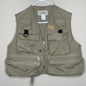 Classic L.L.Bean Vintage 80's 90's Fly Fishing Vest