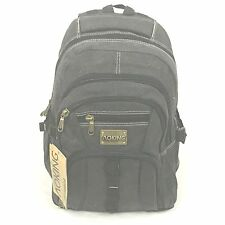 Aoking Canvas Military grn/Khaki/Blk laptop school travel backpack bag Rucksack