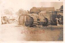 Franz. Panzer Char B1 Kennung in Port - sur - Saone Frankreich