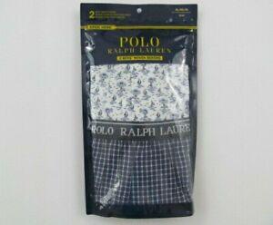 Polo Ralph Lauren 2-Pack Boys Woven Boxers Size XL Classic Comfort Fit Logo