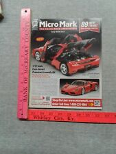 Micro Mark Early Winter 2013 Model Car Airplane Train Catalog Small Tools