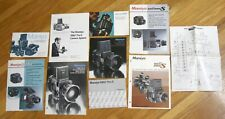 Mamiya Rb67 Pro-S manual instructions brochure advertising Lot