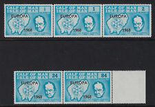 Ternero del hombre: 1968 Churchill Opt Europa 1968 Set Rosen CA99-103 Estampillada sin montar