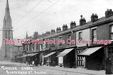 LA 449 - Twelve Shops, Blackburn Road, Bolton, Lancashire - 6x4 Photo