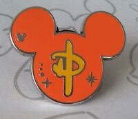 Orange Icon with Chinese Symbol Hidden Mickey SDR Shanghai Disney Pin 121188
