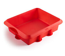 "Lekue 8"" x 9.5"" Silicone Square Cake Pan"