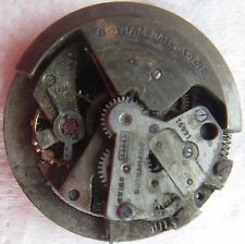 Tools & Parts Pocket Watches Beautiful Partial A.schild 1250 Swiss 17j Bumper Automatic Watch Movt For Parts Or Repair