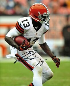 Cleveland Browns Josh Gordon signed 8x10