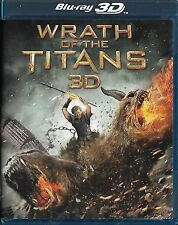 WRATH OF THE TITANS... 3D & Bluray and DVD 3-Disc Set