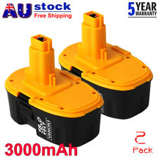 18Volt XRP DC9096 For Dewalt DW9095 DC9099 DW9098 3000mAh Cordless Battery 2Pack
