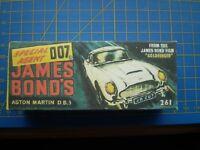 CORGI TOY REPRO BOX ONLY FOR NO 261 JAMES BOND ASTON MARTIN DB4