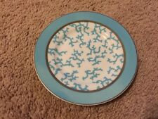 Raynaud Cristobal Turquoise Bread Butter Plate NWT Limoges China 6.5""