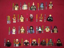 LEGO Star Wars minifigures LOT  Aayla,Agen KOLAR,Eeth,Qui,Ithorian,Ki Adi,Yoda +