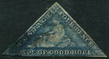 CAPE OF GOOD HOPE - 1863 QV 4d 'STEEL BLUE' Used SG6a Cv £275 [A9467]