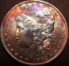 1882-O MORGAN SILVER DOLLAR ( TONED ) #16-575